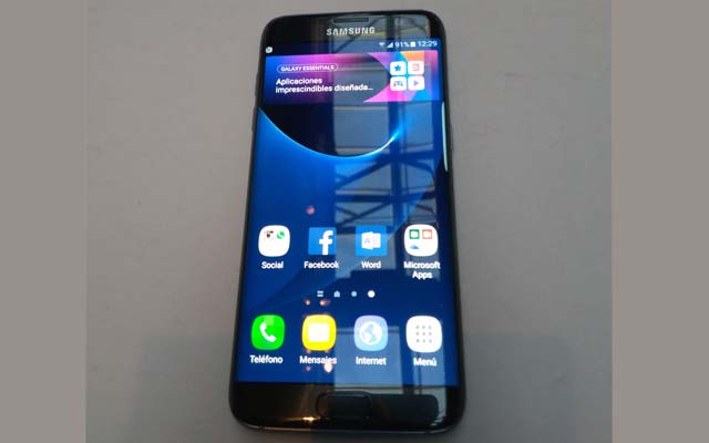 Samsung Galaxy S7 Edge.enretail