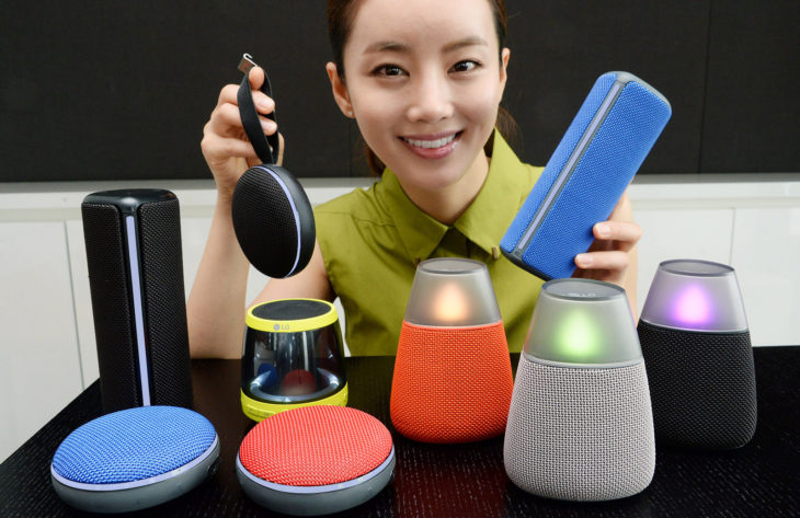 LG parlantes bluetooth PH1, PH2, PH3 y PH4